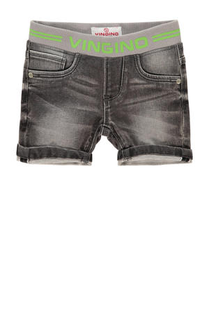 jeans bermuda Carst mini dark grey vintage