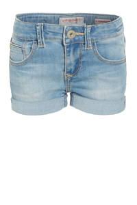 Vingino high waist jeans short Daizy light indigo, Light Indigo