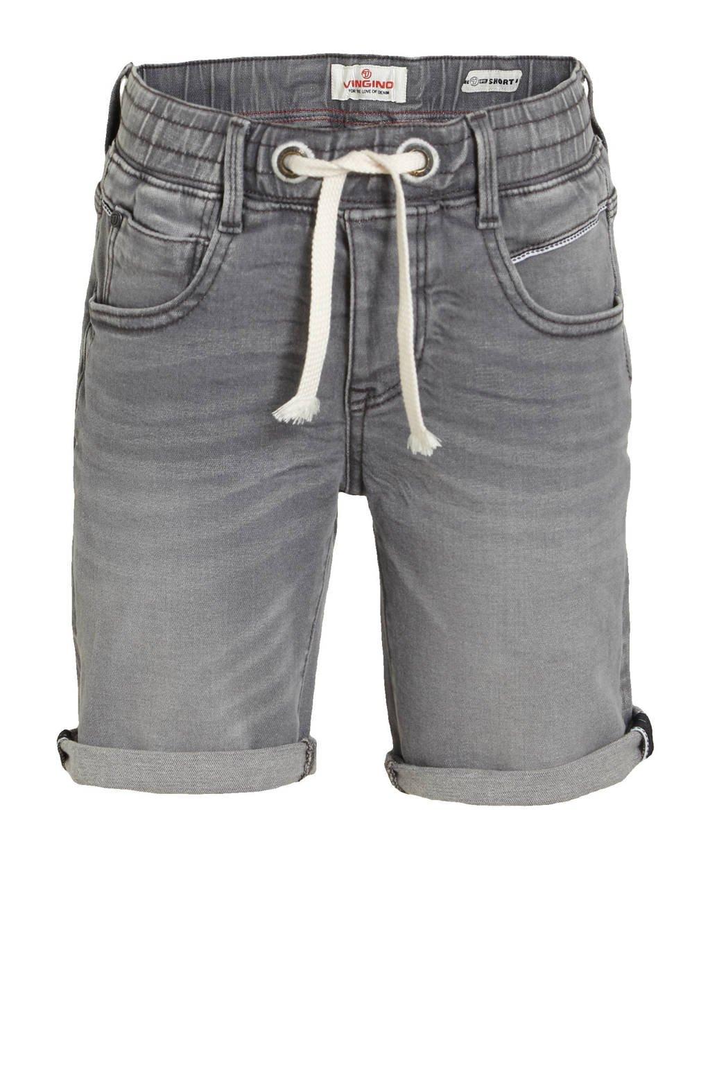 Vingino jeans bermuda Cecario dark grey vintage, Dark grey vintage
