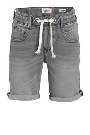 jeans bermuda Cecario dark grey vintage