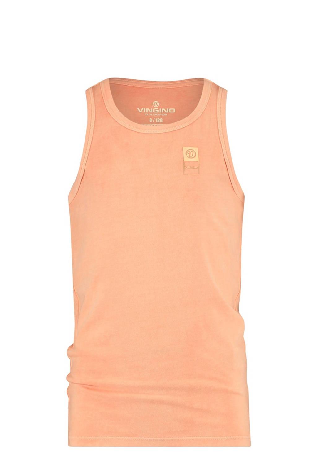 Vingino Essentials singlet neon oranje, Neon oranje