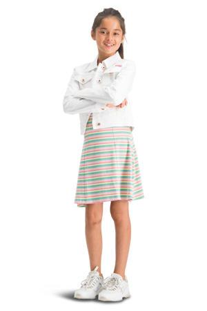 spijkerjas Toscane wit