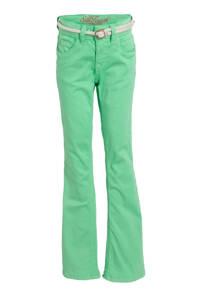 Vingino high waist flared broek Belize Flare fris groen, Fris groen