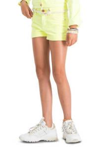 Vingino high waist short Belize neon geel, Neon geel