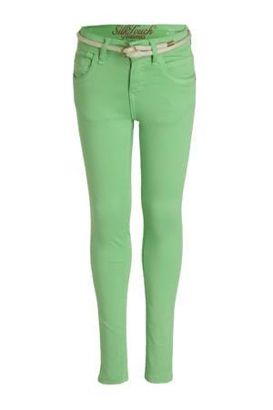 high waist super skinny jeans Belize Color fris groen