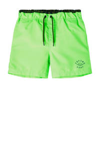 NAME IT KIDS zwemshort Zimmo neon groen, Neon groen