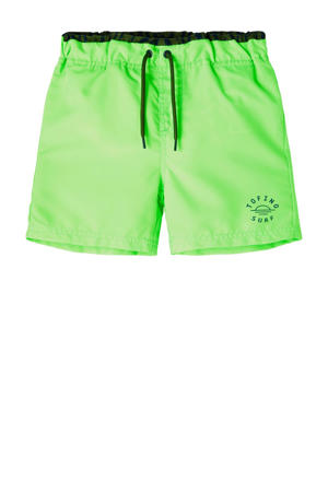 zwemshort Zimmo neon groen