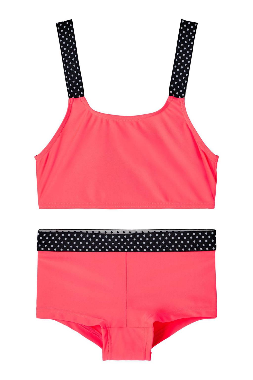 NAME IT KIDS crop bikini Zeleste roze, Roze