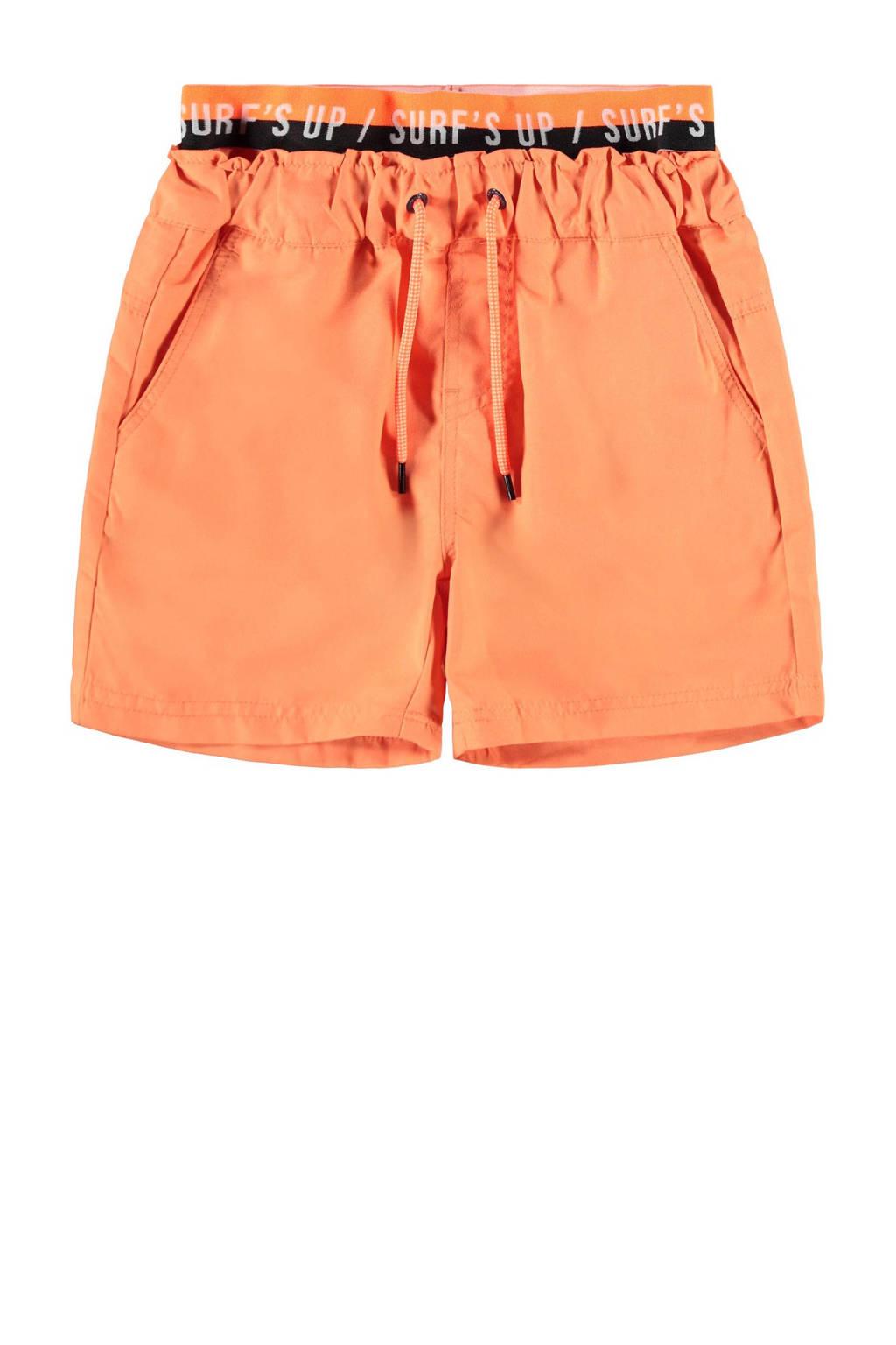 NAME IT KIDS zwemshort Zelixo oranje, Oranje