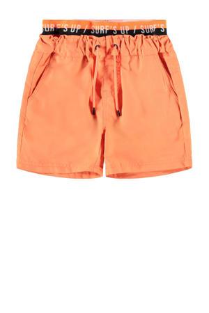zwemshort Zelixo oranje