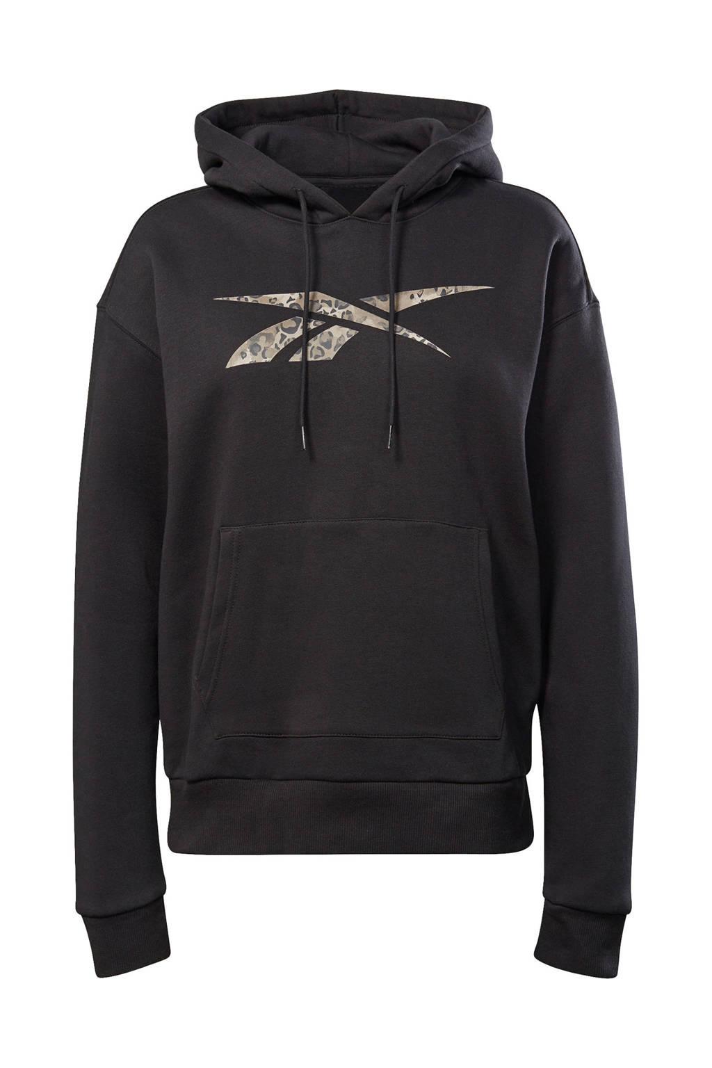 Reebok Training sportsweater zwart, Zwart