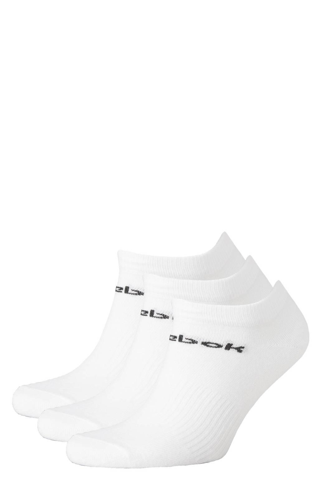 Reebok Training sneakersokken -  set van 3 wit, Wit