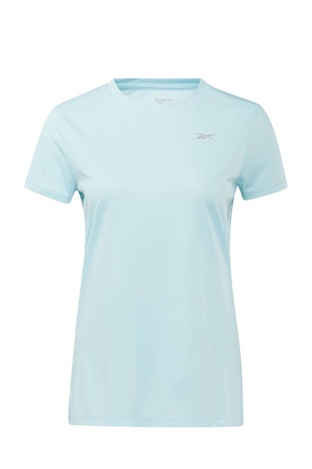 Reebok Training sport T-shirt lichtblauw, Lichtblauw