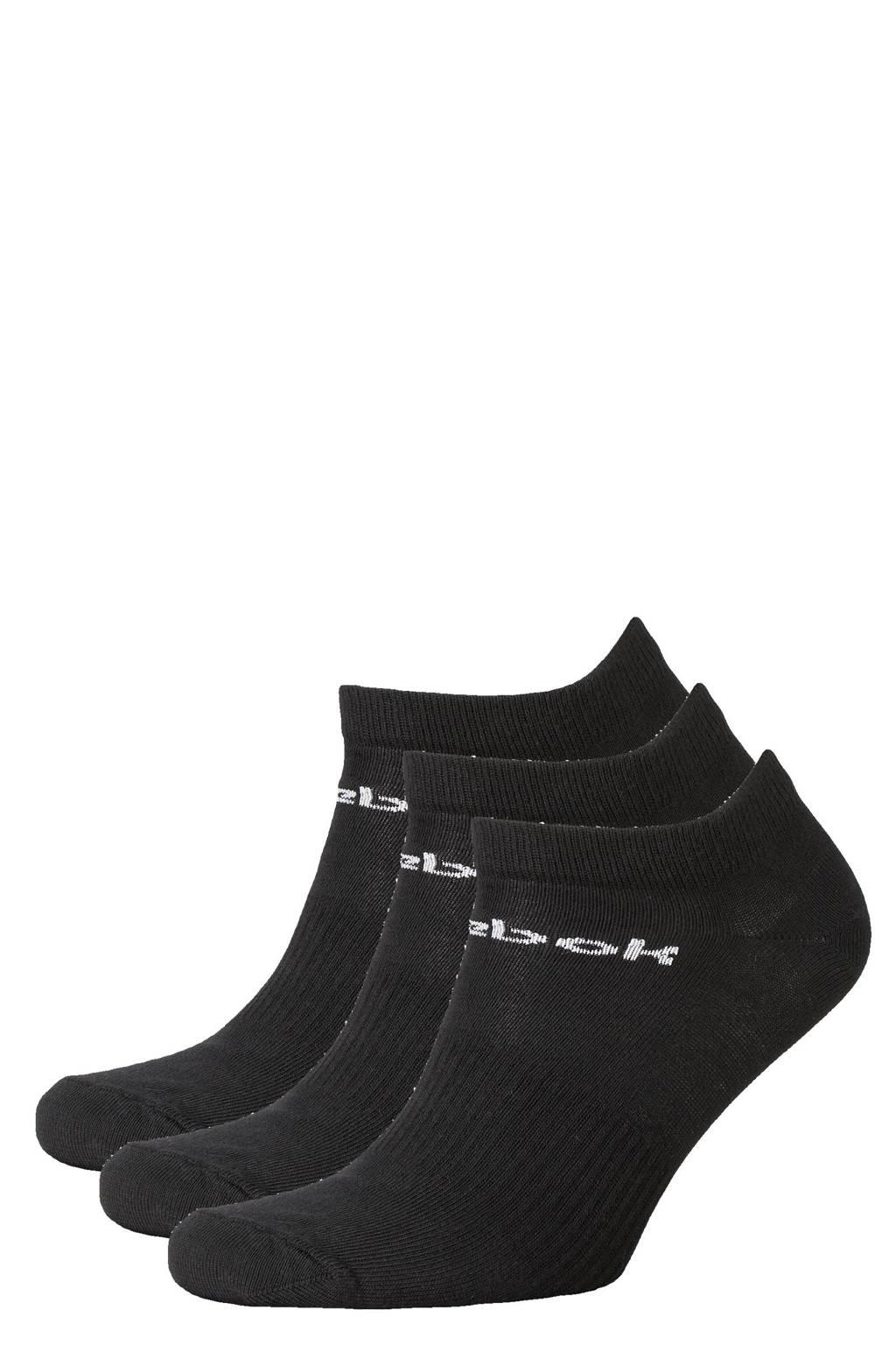 Reebok Training sneakersokken -  set van 3 zwart, Zwart
