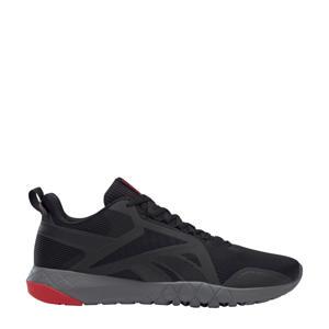 Flexagon Force 3,0 sportschoenen zwart/grijs/rood