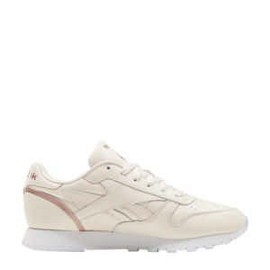 Classic Leather sneakers lichtroze/roze metallic