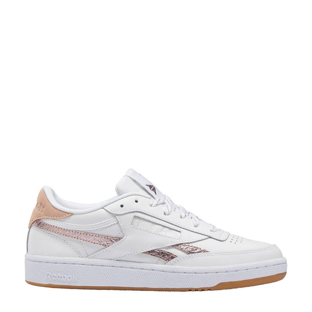 Reebok Classics Club C 85 sneakers wit/roze/lichtgrijs