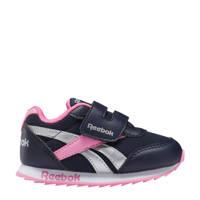 Reebok Classics Royal Classic Jogger 2 sneakers donkerblauw/roze/zilver, Donkerblauw/roze/zilver
