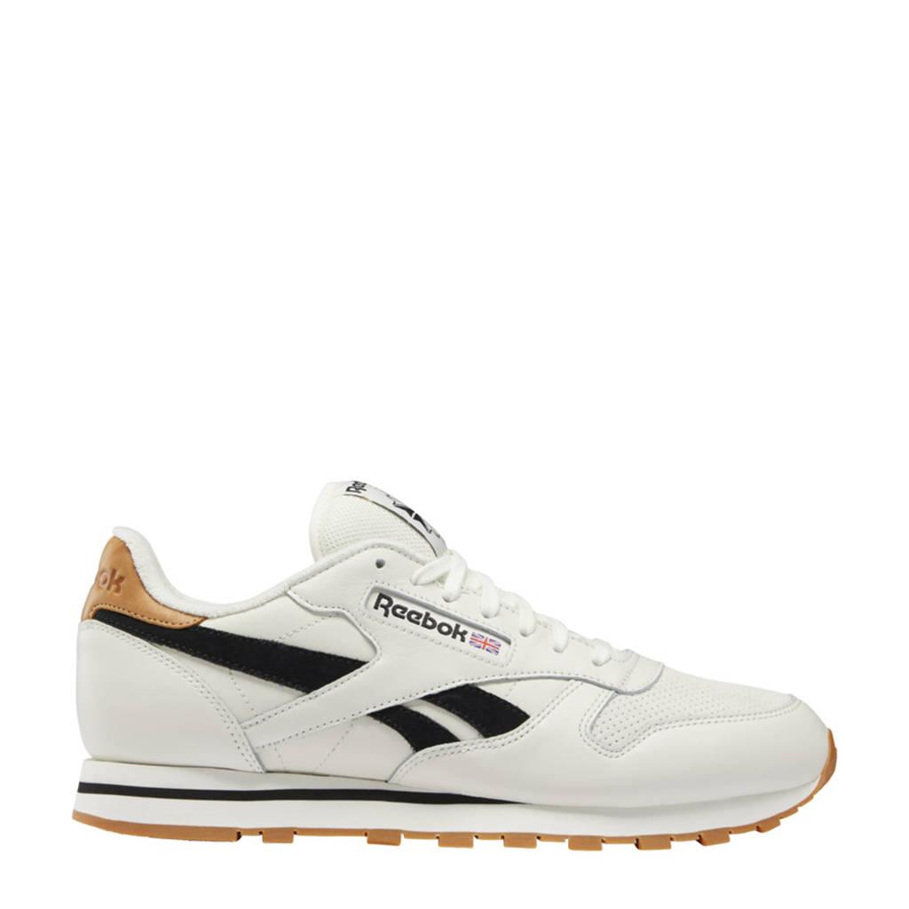 Reebok Classics Classic Leather  sneakers ecru/zwart/ecru
