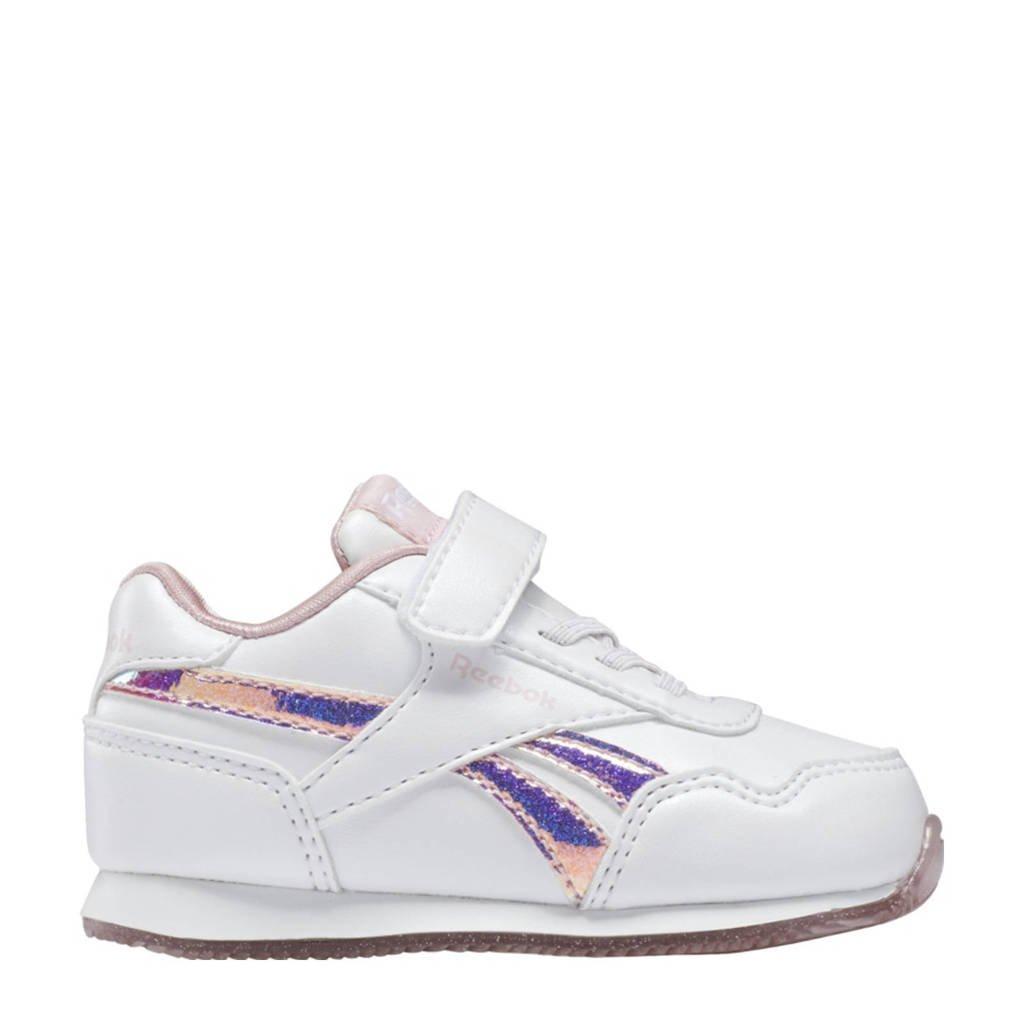 Reebok Classics Royal Classic Jogger 3.0 sneakers wit/roze, Wit/roze