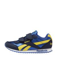 Reebok Classics Royal Classic Jogger 2 sneakers donkerblauw/blauw/geel, Donkerblauw/blauw/geel