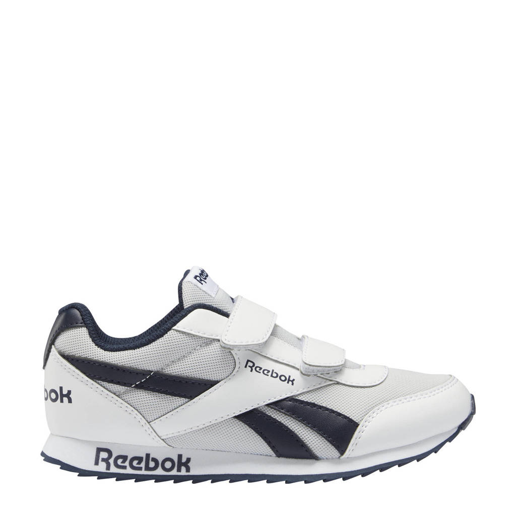 Reebok Classics Royal Classic Jogger 2 sneakers wit/donkerblauw, Wit/donkerblauw