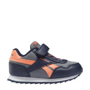 Royal Classic Jogger  sneakers donkerblauw/oranje/grijs