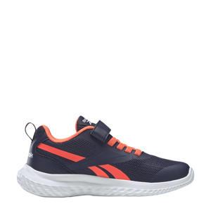 Rush Runner 3.0 hardloopschoenen donkerblauw/oranje/wit kids