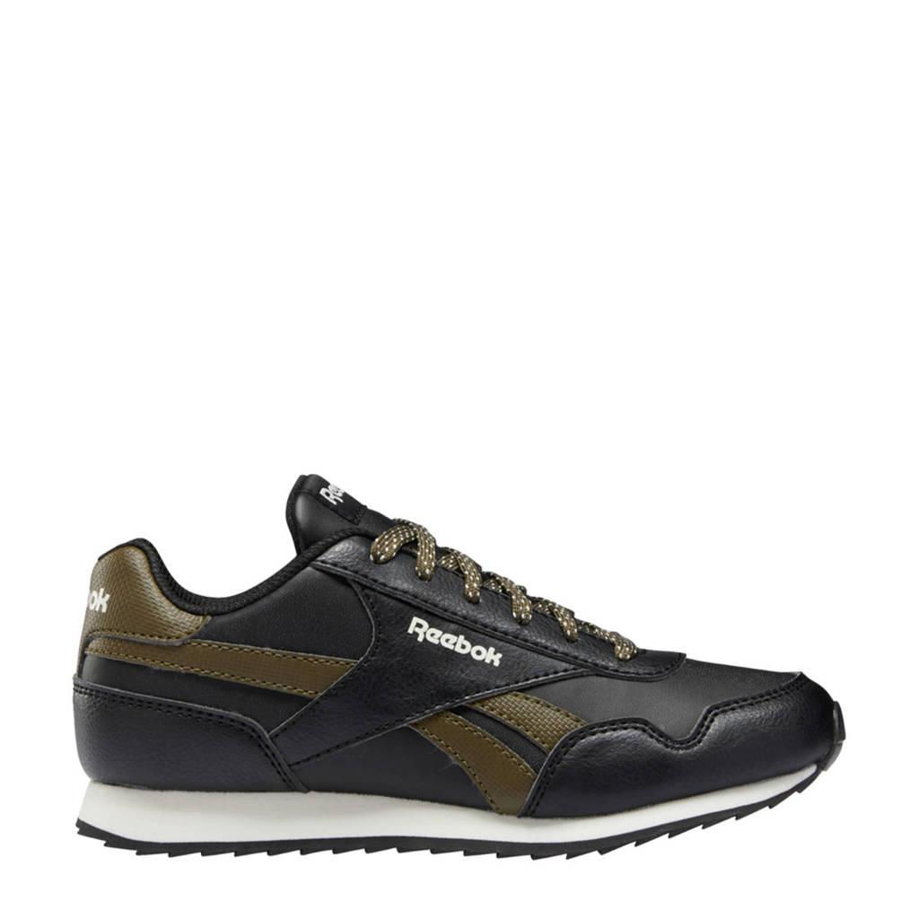 Reebok Classics Royal Classic Jogger 3.0 sneakers zwart/donkergroen/ecru, Zwart/donkergroen/ecru