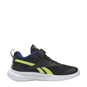 Rush Runner 3.0 hardloopschoenen zwart/geel/blauw kids