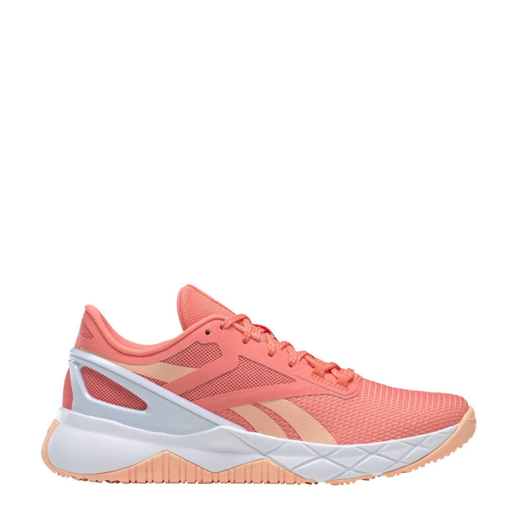 Reebok Training Nanoflex Training sportschoenen koraalrood/oranje/wit