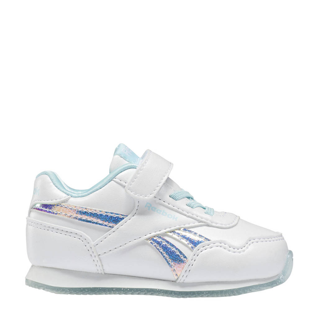 Reebok Classics Royal Classic Jogger 3.0 sneakers wit/lichtblauw, Wit/lichtblauw
