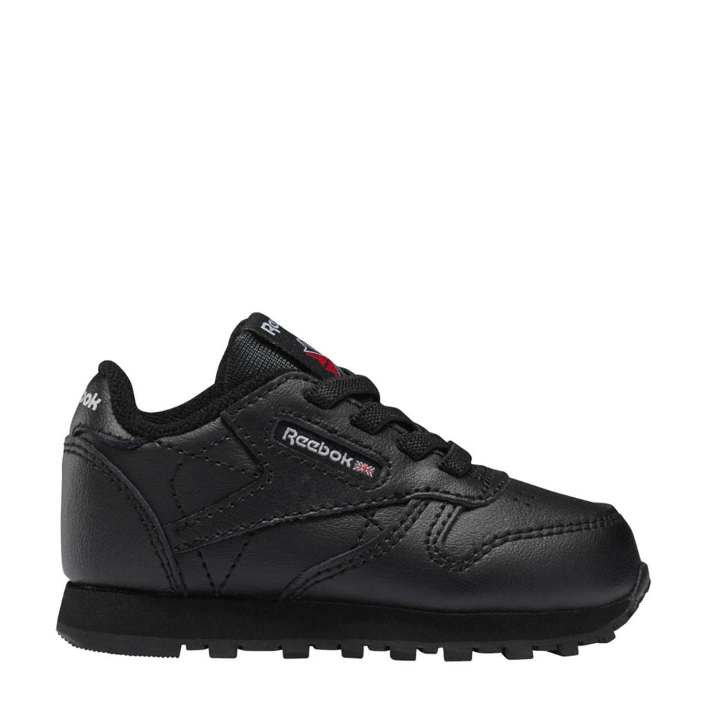 Reebok Classics Classic Leather sneakers zwart, Zwart