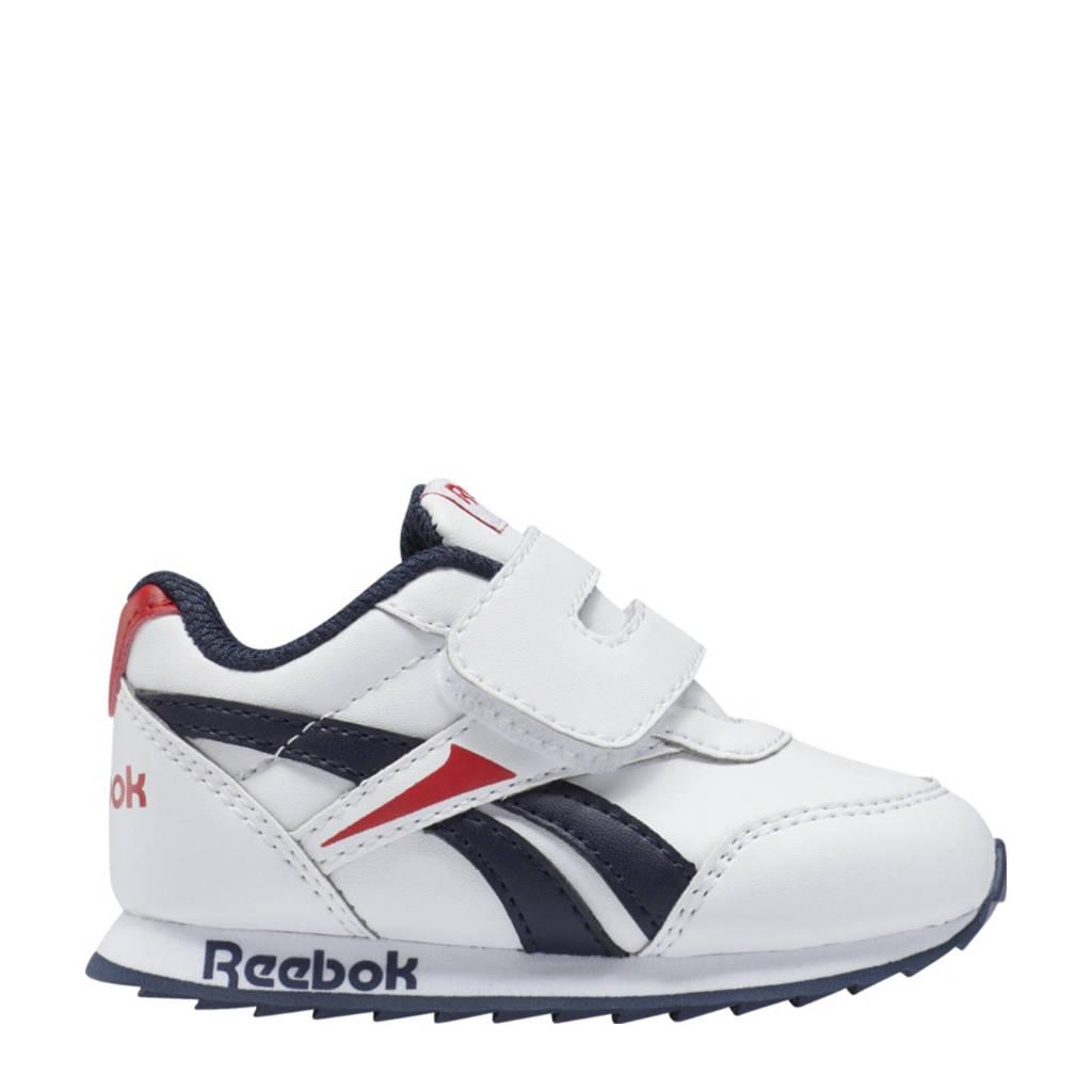 Reebok Classics Royal Classic Jogger 2 sneakers wit/donkerblauw/rood, Wit/donkerblauw/rood