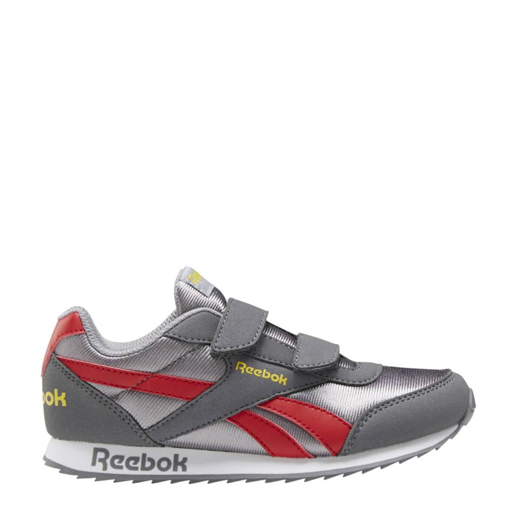 Reebok Classics Royal Classic Jogger 2 sneakers grijs/lichtgrijs/rood, Grijs/lichtgrijs/rood