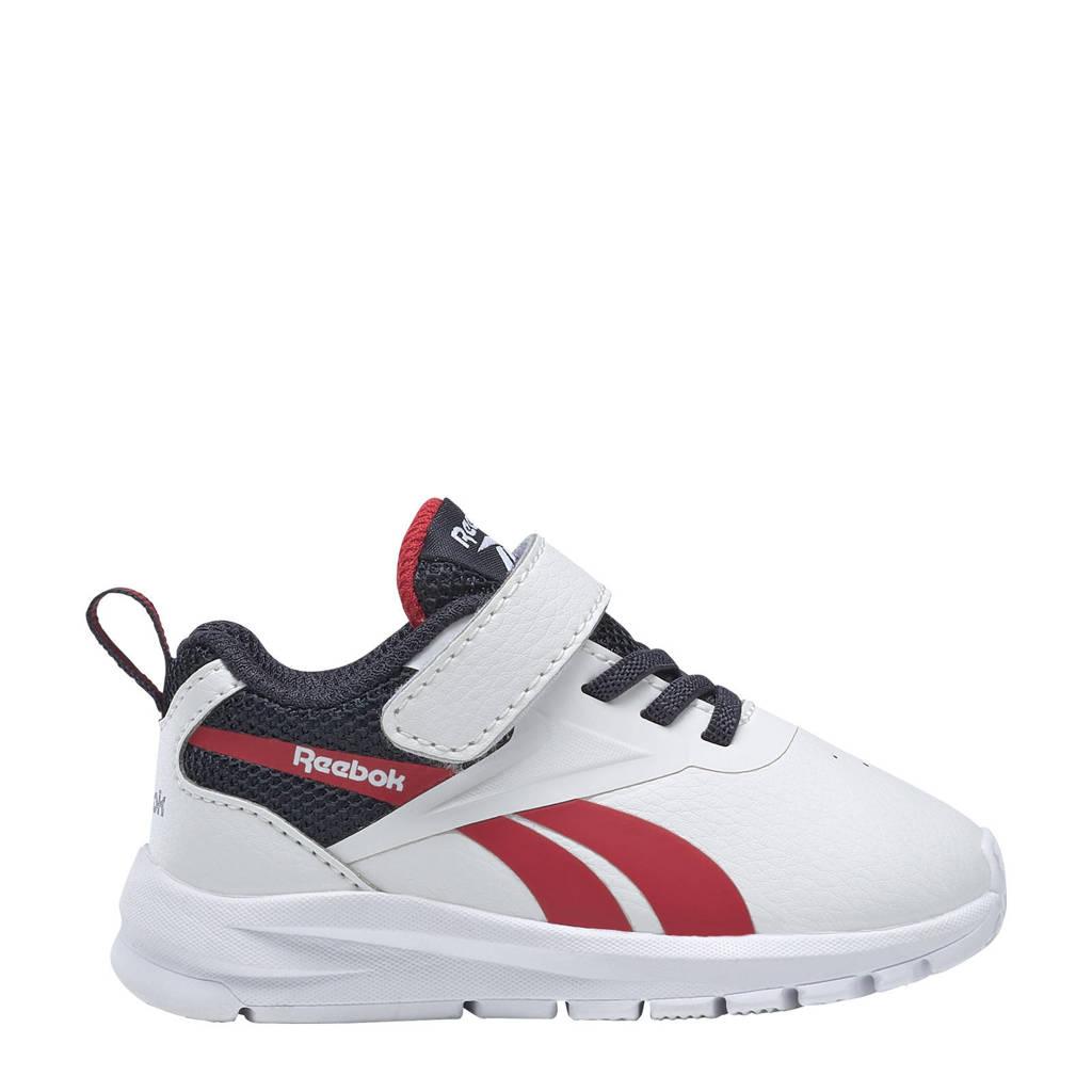 Reebok Training Rush Runner 3.0 sportschoenen wit/donkerblauw/rood kids, Wit/donkerblauw/rood