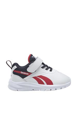 Rush Runner 3.0 sportschoenen wit/donkerblauw/rood kids