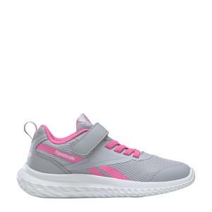 Rush Runner 3.0 hardloopschoenen grijs/roze/wit kids