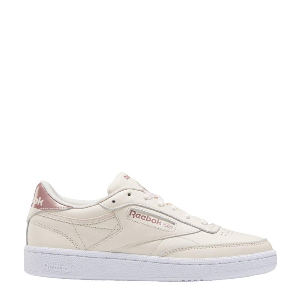 Reebok Classics Club C 85 sneakers ecru/roze/wit
