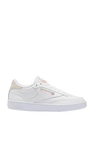 Club C 85 sneakers wit/oranje