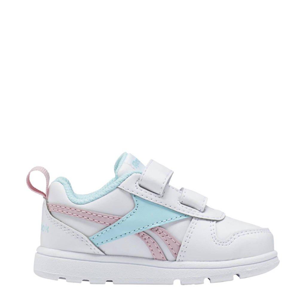 Reebok Classics Royal Prime 2.0 KC sneakers wit/roze/lichtblauw, Wit/roze/lichtblauw