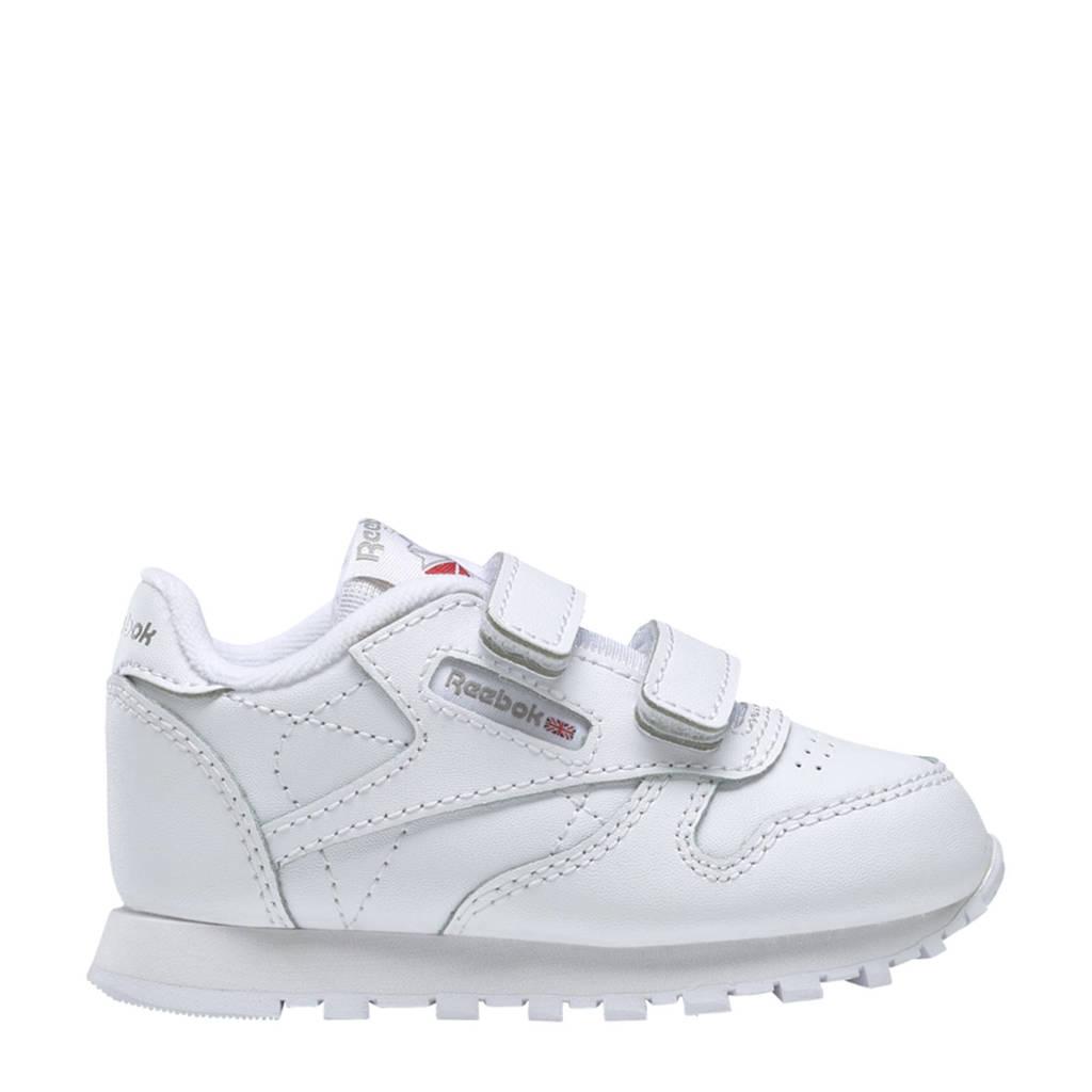 Reebok Classics Classic Leather sneakers wit/antraciet, Wit/antraciet