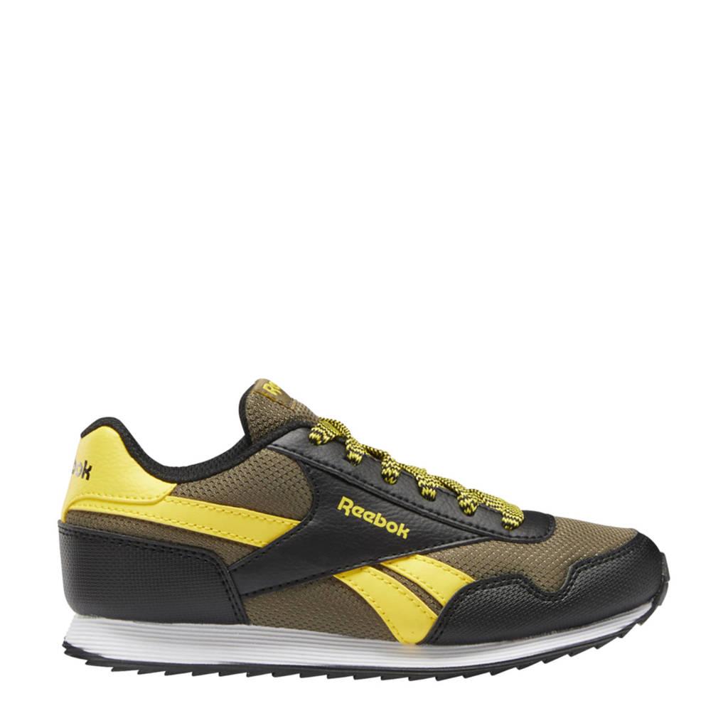 Reebok Classics Royal Classic Jogger 3.0 sneakers donkergroen/zwart/geel, Donkergroen/zwart/geel