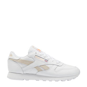 Classic Leather sneakers wit/ecru