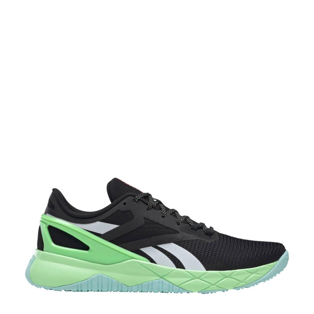 Reebok Training Nanoflex Training sportschoenen zwart/lichtblauw/mintgroen
