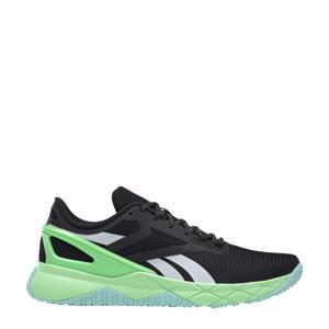 Nanoflex Training sportschoenen zwart/lichtblauw/mintgroen