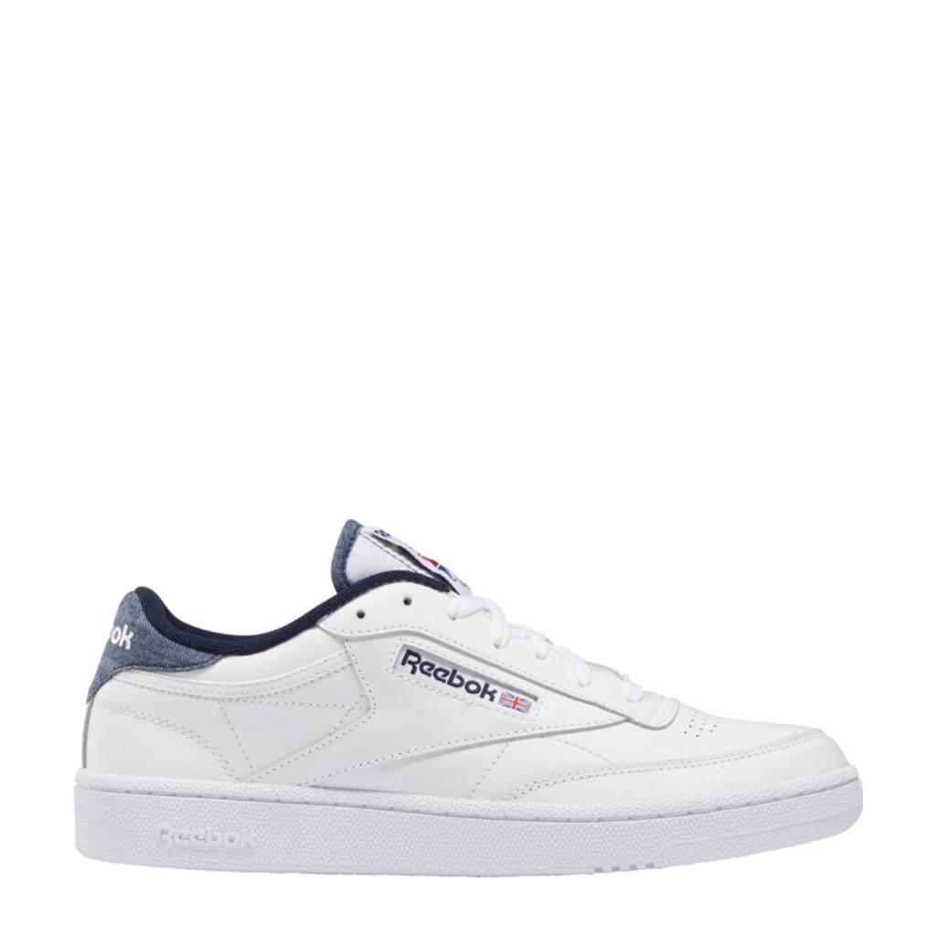 Reebok Classics Club C 85 sneakers wit/donkerblauw, Wit/donkerblauw