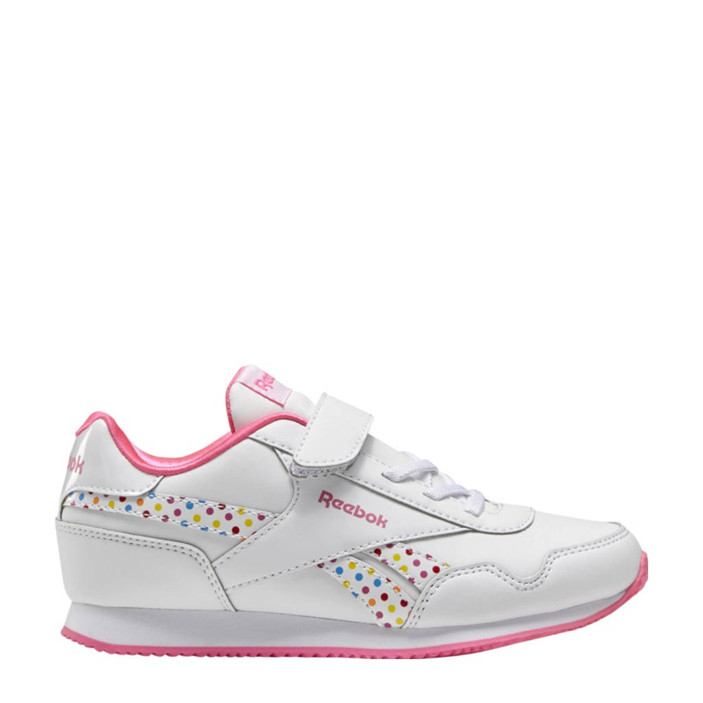 Reebok Classics Royal Classic Jogger 3.0 sneakers wit/rood/roze, Wit/rood/roze