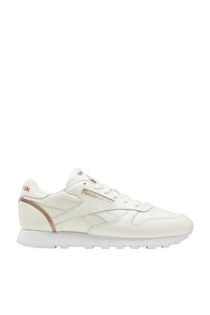 Classic Leather sneakers ecru/brons