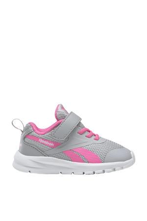 Rush Runner 3.0 sportschoenen grijs/roze/wit kids